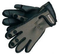 Mens Barbour Neoprene Gloves - Green - MGL0003GN11